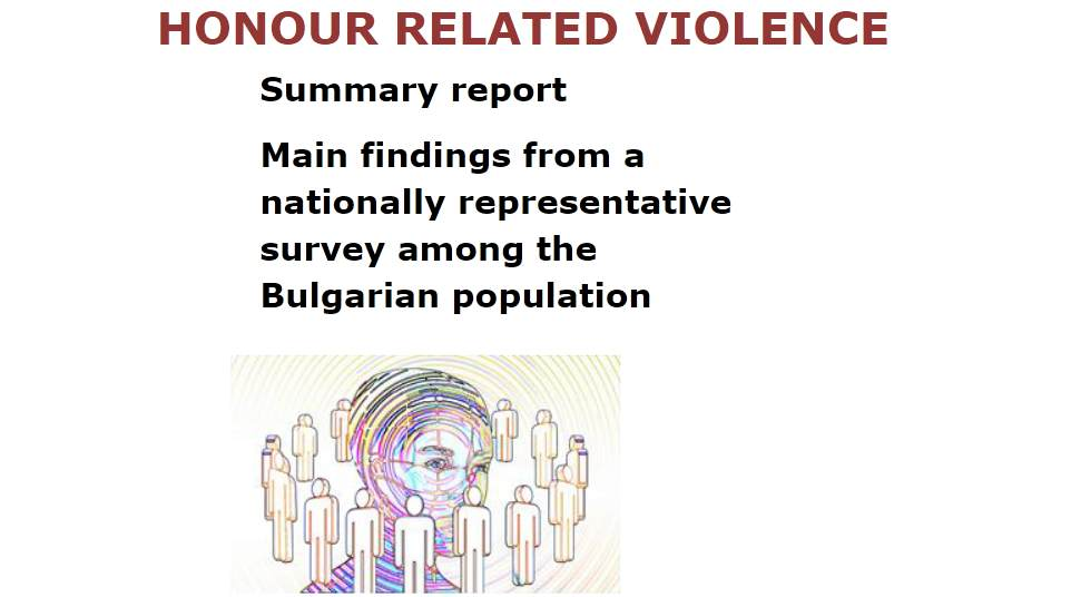 "The most ""problematic"" form of honour-related violence in Bulgaria are early forced marriages"